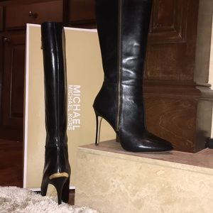 MICHAEL Michael Kors Clara Stiletto Boot